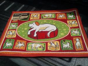 Dog mat rug for Sale in McKees Rocks, PA