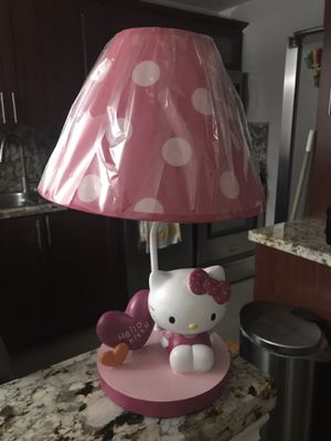Hello Kitty night lamp for Sale in Hollywood, FL