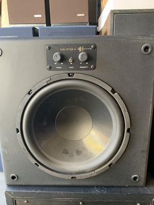 Sonance subwoofers 10' for Sale in San Jose, CA