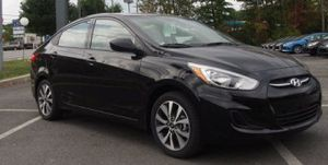 2017 Hyundai Accent Val . Edition! Only 4,000 mi. Needs nothing! for Sale in Bridgeport, CT
