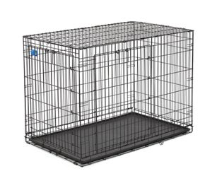 XL Dog crate 2 door foldable for Sale in Menifee, CA
