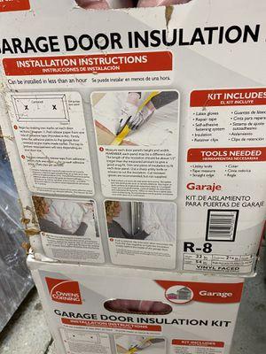 Garage door insulation kits x 2 for Sale in Grove City, OH