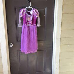 Rapunzel Costume, Size 4, Used for Sale in San Antonio,  TX