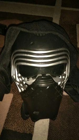 Star Wars Kylo Ren Mask for Sale in Sanger, CA