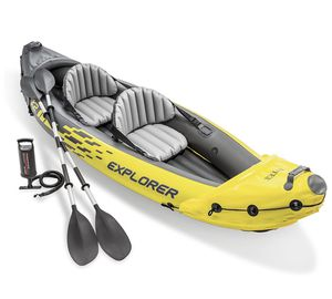 Intex Explorer K2 Kayak with Oars & Pump 2-Person for Sale in Richardson, TX