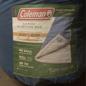 Coleman Sleeping Bags (2) for Sale in Whittier, CA