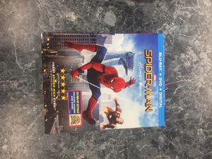 Spider-Man homecoming blu Ray for Sale in Silver Spring, MD