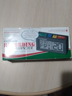 The Talking Personal Recording Alarm Clock for Sale in Bonita,  CA