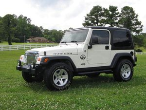 Price $1200 2003 Jeep Wrangler Rubicon Clear for Sale in Washington, DC