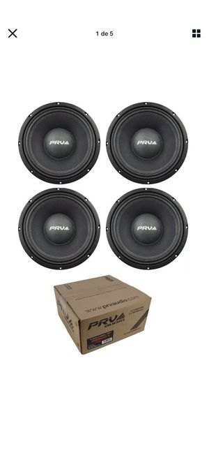 "Taramps MD 5000 2 Ohms Amplifier MD5000 HD5000 5K 5000.1 Car Amp 4x 10"" Mid Bass Loudspeaker Pro Car Audio 1600 Watts 8 Ohm PRV 10MB400 for Sale in San Antonio, TX"