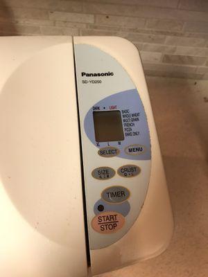 Panasonic Bread Maker for Sale in Houston, TX