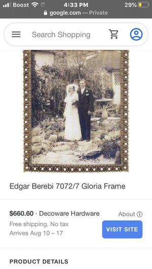 Edger Berebi 24k Gloria Frame for Sale in Lake Wales, FL