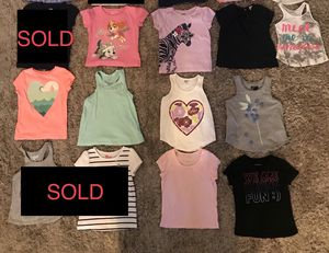 GENTLY USED‼️ 4T TODDLER BABY GIRL SHIRT LOT - BABY GAP, OSHKOSH, GYMBOREE, CARTERS AND MORE for Sale in Houston, TX