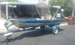 Aluminum boat Sea nymph 14ft for Sale in Phoenix, AZ