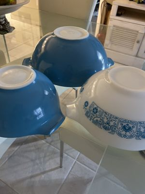 Vintage Pyrex Bowls set for Sale in Sunny Isles Beach, FL