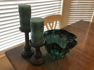 Matching Teal Decor Set! for Sale in Sandy, UT