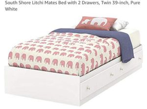 TWIN SIZE BED !!!! NEVER USED STILL IN BOX for Sale in The Bronx, NY