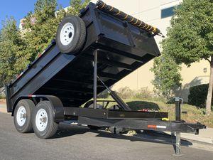 Dump Trailer 8x12x2 HD for Sale in Los Angeles, CA