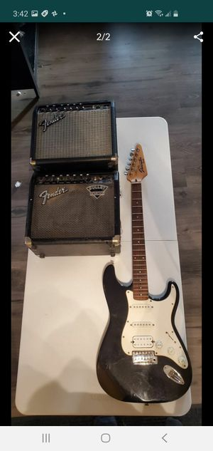Fender Starcaster and amps for Sale in Detroit, MI