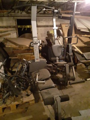Bowflex equipment and weight equipment for Sale in Massillon, OH