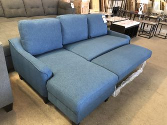 Ashley Blue Sleeper Sectional Sofa on Sale for Sale in Phoenix,  AZ