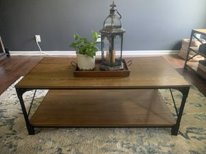 Industrial coffee table for Sale in WILOUGHBY HLS, OH