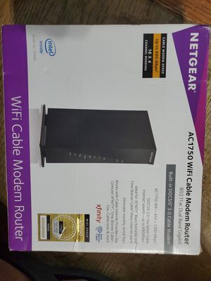 Netgear AC1750 Modem Router for Sale in Baltimore, MD