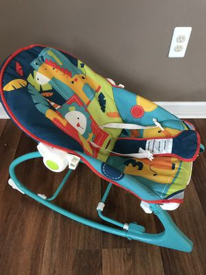 Fisher Price Baby Rocker with musical toys for Sale in Alexandria, VA