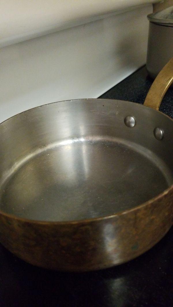 Copper pot set