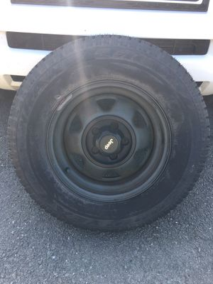 Brand new 215/75/R15 GOODYEAR WRANGLER RT/S for Sale in Bardonia, NY