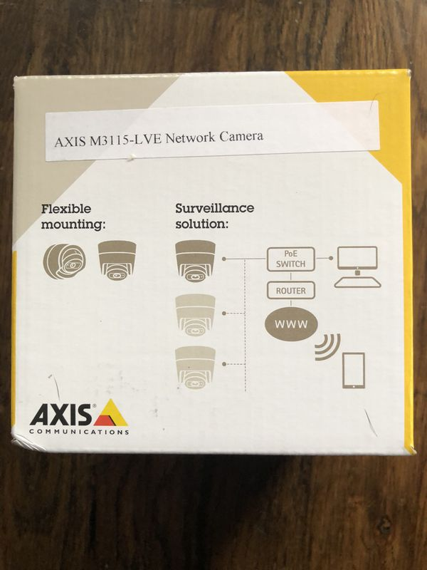 Axis m3115 network camera