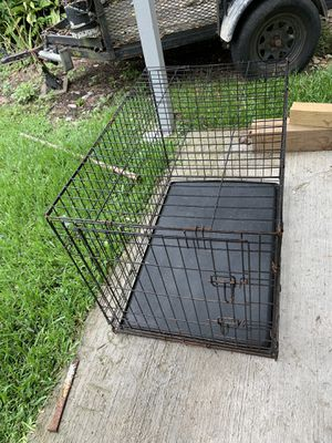 Wire Dog crate for Sale in Houston, TX