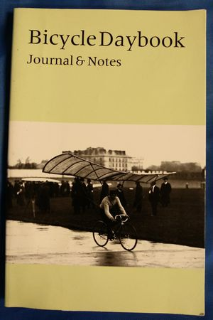 Rare Bicycle Daybook - Journal & Notes (1st Edition Set of 2-Journals) for Sale in San Antonio, TX