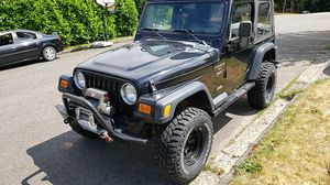 2001 Jeep Wrangler Sport for Sale in Tacoma, WA