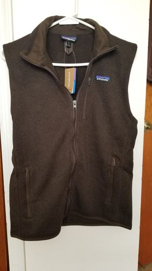 NEW Brown Patagonia Zipper Vest for Sale in Woodbridge Township, NJ