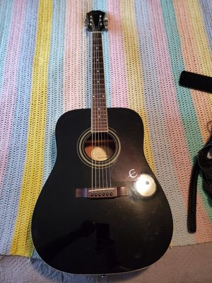 Epiphone acoustic guitar fair condition for Sale in Beaverton, OR