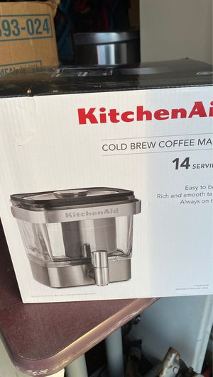 Cold brew coffee maker kitchen aid for Sale in Moore, OK