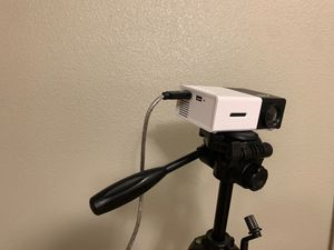 ARTiii Projector w/ HDMI cord & tripod for Sale in Fort Hood, TX