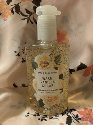 Bath and Body Works Warm Vanilla Sugar Large Sanitizer for Sale in Carson, CA