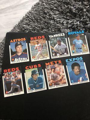 Topps 1986 baseball cards - make offers for Sale in Arlington, TX