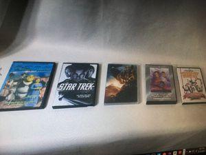 Lot of 5 Paramount DVD Movies (Shrek the Third, Star Trek, Transformers 2) for Sale in Layton, UT