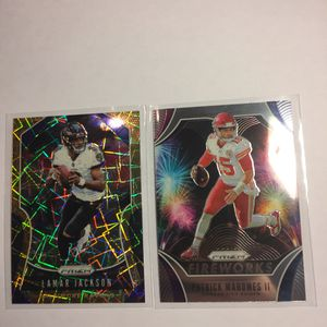 2019 Prizm Mahomes & Jackson Lot for Sale in Vancouver, WA