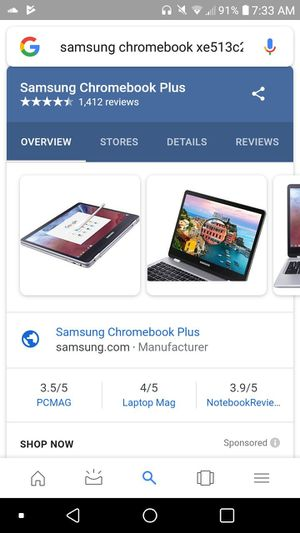 Samsung Chromebook Plus for Sale in Hingham, MA