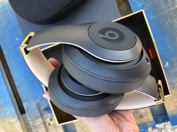 Beats Studio 3 Wireless Bluetooth headphones Over Ear shadow Gray @2019 New Model 💯 Authentic 💪💪