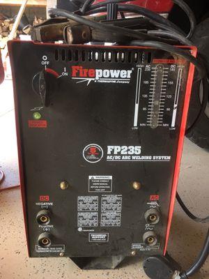 Firepower. FP 235 ac-dc welder. $125.00 for Sale in Nutrioso, AZ