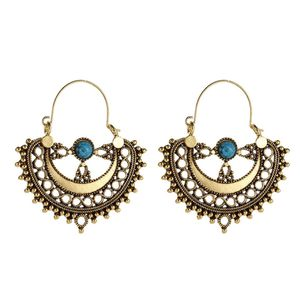 Gold Boho and Turqs Earrings for Sale in Dale City, VA