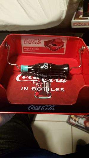 Coca cola napkin holder authentic brand new for Sale in Miami, FL