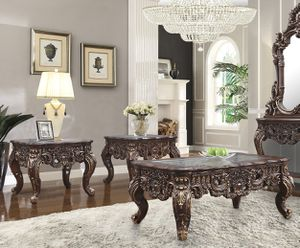 LUXURY COFFE TABLE SET 3 pcs for Sale in Hesperia, CA