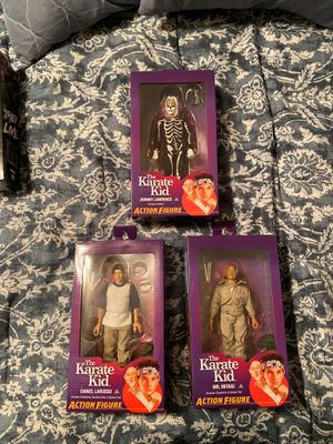 NECA Karate Kid Action Figures for Sale in Tampa, FL