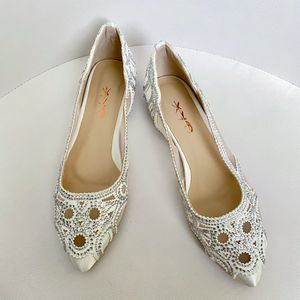 Pointed Toe Rhinestone Flats Mesh for Sale in Las Vegas, NV